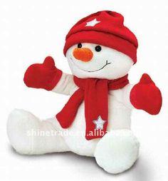 2012 del muñeco de nieve juguetes TOS504-Animales de peluche y ...