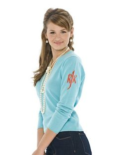 cashmere sweater with shoulder monogram. about two hundred bucks less than q.o.c. but i think i can do better...