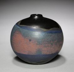 Bottle, 1960                                                Toshiko Takaezu (American, 1922-2011)                              stoneware