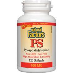 Natural Factors PS (Phosphatidylserine)