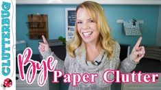 Paper Clutter: 5 Systems to Eliminate the Piles for Good 📄 Clutter Organization, Household Organization, Paper Organization, Organizing Tips, Office Organization, Cleaning Tips, Declutter Your Home, Organize Your Life, Old Fashioned Words