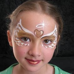 easy christmas face painting ideas - Google Search More