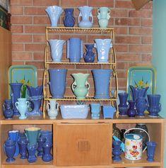 Blue Pottery, Shelfie, Heaven, Mugs, Tableware, Home Decor, Sky, Dinnerware, Cups