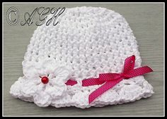Craft Passions: Kayleigh Baby Hat free crochet pattern