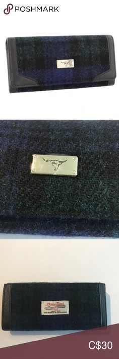 Glenn Appin of Scotland Harris Tweed Wallet NWT Perfect for Fall 🍂 Glenn Appin of Scotland since 1903 Tons of card slots and room for cash Dimensions Fabric Wool Lining Polyester Glenn Appin of Scotland Bags Wallets Plus Fashion, Fashion Tips, Fashion Design, Fashion Trends, Harris Tweed, Scotland, Wallets, Shop My, Wool