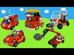 Spielzeug Feuerwehrautos unboxing: Playmobil & Lego Duplo Kinderfilm for Kids Lego Duplo, Youtube, Kids, Dinosaur Toys, Fire Trucks, Children, Boys, Children's Comics, Boy Babies