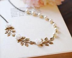 Bridal Bracelet Wedding Bracelet Wedding Jewelry. Ivory by LeChaim