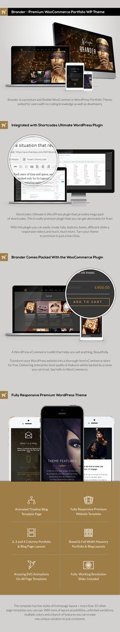 WordPress - Brander - Premium WooCommerce Portfolio WP Theme | ThemeForest