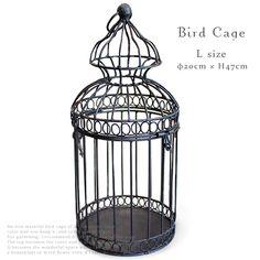 【楽天市場】Bird Cage アイアン 鳥かご (Lサイズ)φ20×H47cm バードケージ 【あす楽対応】【RCP】:the Gift by fp