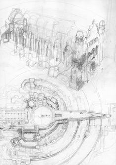 Alan Lee - The lord of the rings sketchbook Minas Tirith Alan Lee, High Fantasy, Fantasy Art, Minas Tirith, Into The West, Jrr Tolkien, Environmental Art, Middle Earth, Op Art