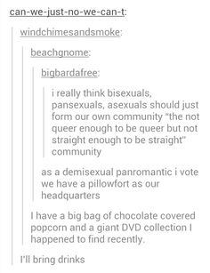 I'm bisexual, so i think we really need to do this.