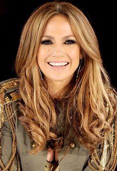 JLO hair color