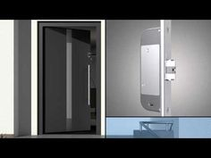 Fingerprint Scanner for doors - Modern Entry Door