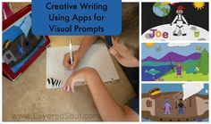 Using apps to provide visual prompts for creative writing assignments.  **Could work for ilustrating a final project children's book***