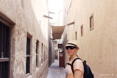 My friend Tina is exploring the narrow streets in Bastakiya Dubai Fashion, Runway Fashion, Fashion Fashion, Fashion Trends, Lv Handbags, Louis Vuitton Handbags, Gold Souk, Toms Shoes Outlet, Summer Cardigan