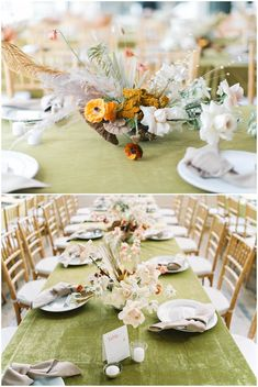 La Tavola Fine Linen Rental: Velvet Curry with Nuovo Champagne Napkins | Photography: Maria Lamb, Event Planning, Styling & Creative Direction: Kae + Ales, Florals: Hart Floral, Venue: The Cleaners at Ace Hotel, Rentals: The party Place