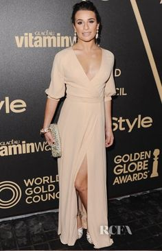 Lea Michele in Valentino.