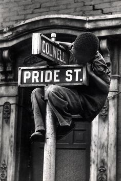 """W. Eugene Smith - from the Pittsburgh project, """"Dream Street."""""""