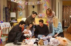 Friends TV show, Emma's 1st birthday party