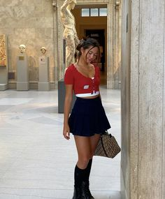 <3 Cute Casual Outfits, Summer Outfits, Estilo Madison Beer, Cute Fashion, Fashion Outfits, Clueless Outfits, Lily Chee, How To Pose, Mode Vintage