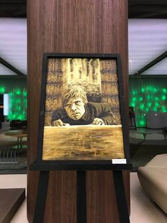 Game of Thrones coffee painting