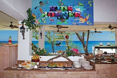 The Sunscape Sabor Cozumel Kids Corner is full of delicious snacks that little ones will love.