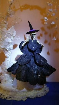 Skeleton dolls - Witch 2 - Something a little wicked this way comes.