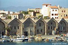 Chania,+Crete | Chania, The Venetian Arsenals