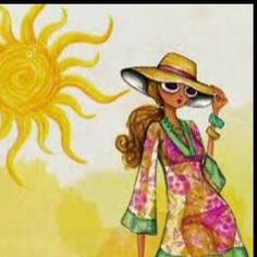 illustrations by bella pilar images | Bella Pilar Illustrations~ / Bella Pilar. Sunny Summer Day :-)