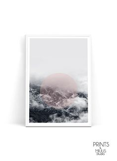 Print Montains Photography Landscape print by PrintsMiuusStudio