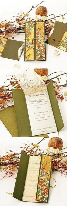 Creative wedding invitation -fancybt.com
