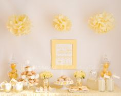 Sunshine Brunch, Lemons Baby Shower Party Ideas | Photo 11 of 13 | Catch My Party