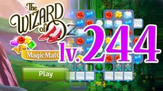 Wizard of Oz: Magic Match - Level 244 (1080/60fps)