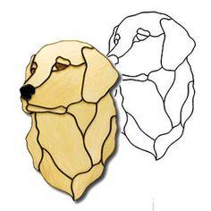 Shadow Golden Retriever Dog Obsession Pattern