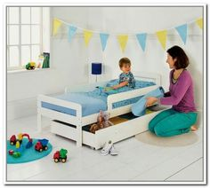Toddler Beds With Storage Underneath