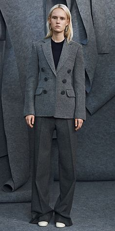 aa9ec3f4258e CÉLINE | Fall 2014 Ready to wear collection STONE TEXTURED WOOL JACKET  2000s Fashion, Fall
