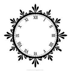 230 best Printables - Clocks & Compasses images on Pinterest ...