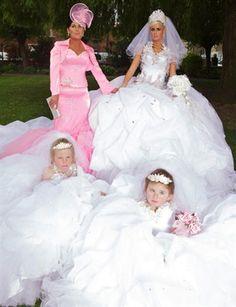 Gypsy wedding.