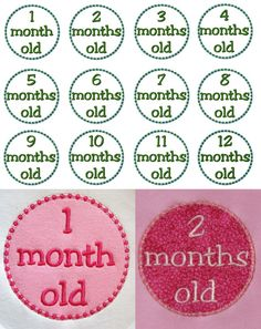 Months old applique designs digital instant download by BowsAndClothesDesign on Etsy https://www.etsy.com/listing/76958751/months-old-applique-designs-digital