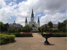 Jackson Square, French Quarter  I've been inspired to #CheatOnGreek with Stonyfield organic Petite Crème, and you can, too! What's YOUR French inspiration? #CheatOnGreek #Contest You can enter, too: www.stonyfield.co... [Promotional Pin]