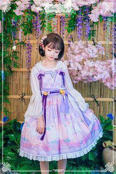 ✨✨ #LolitaUpdate: [-✿✌-Sakura & Bunny-✿✌-] Lolita JSK Dress