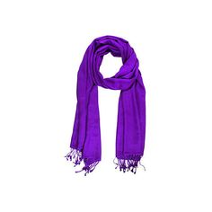 Cashmere Silk Scarf Purple Scarves ($69) ❤ liked on Polyvore featuring accessories, scarves, purple, silk shawl, purple scarves, fringed shawls, pure silk scarves and cashmere scarves