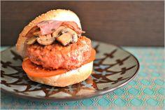 Sweet my Kitchen: Hambúrguer de frango Tandoori
