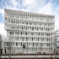 """프랑스 """"Macrolot B5"""" 도시개발구역- [ Antonini Darmon ] Arches Boulogne :: 5osA: [오사]"""