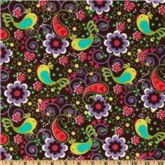 Michael Miller Birdsong Cocoa
