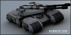 GDI Mammoth-27 Heavy Support Tank by ChaosHour on DeviantArt