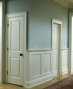 Before you begin to cut material for the wainscoting installation ...