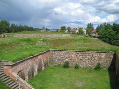 Fortress of hamina, caponier and arrow fort - 1700's built Hamina town fortress is well preserved. Six of seven of Bastions are still there. - Kaponieeri ja nuolilinnake - Photo: Pitkäkaula/WIkipedia