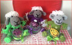 Velikonoční ovečky.