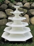New!! Large Octagon Cupcake Stand Bundle